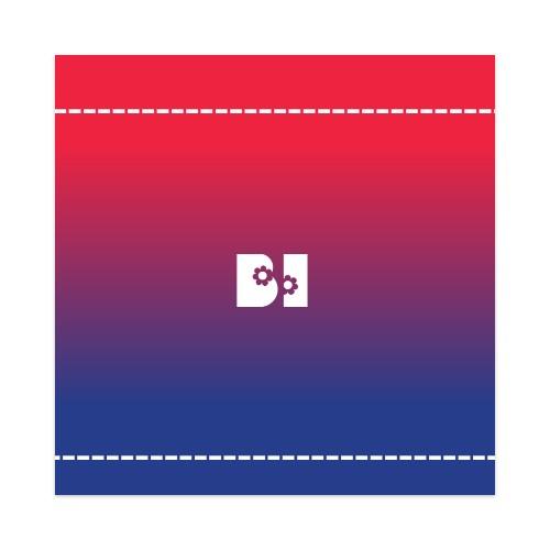 Sticker 4 x 4 Square