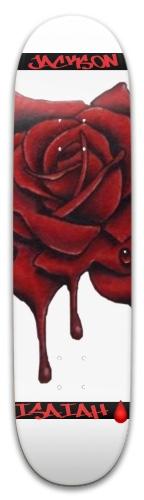 Bloodiest Rose Park Skateboard 8 x 31.775