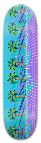 Vaporwave_1.0 Park Skateboard 8 x 31.775