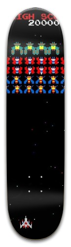 Space Invader Park Skateboard 8 x 31.775