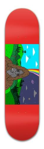 Waddayatalkinbeet Banger Park Skateboard 8.5 x 32 1/8