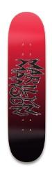 Marilyn Manson SkateBoard Deck Park Skateboard 8.25 x 32.463