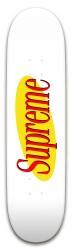 Supremefeld Park Skateboard 8 x 31.775