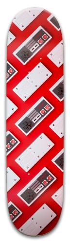 Striped NES Park Skateboard 8 x 31.775