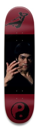 Bruce Lee 01 Park Skateboard 8.5 x 32.463