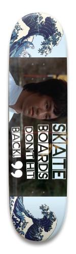 Bruce Lee 03 Park Skateboard 8.5 x 32.463