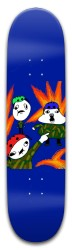 Battle For The Blueberry Crayon Park Skateboard 8 x 31.775