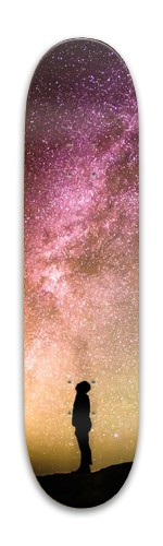 Space skateboard Park Skateboard 7.88 x 31.495
