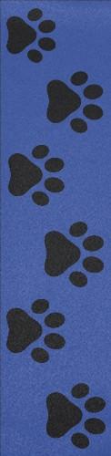 Paw prints up the steps Custom longboard griptape