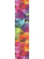 Rainbow Custom longboard griptape
