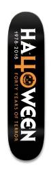 Halloween 40 Park Skateboard 8.25 x 32.463