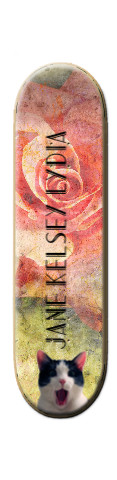 Rosy surprise Skateboard 33 x 8.5