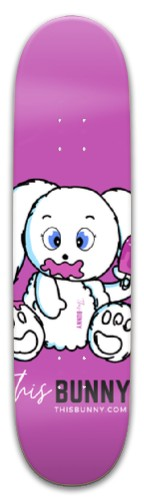 ThisBunny.com Ice Cream Park Skateboard 8 x 31.775