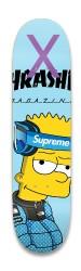 Bart simpson Park Skateboard 8.25 x 32.463