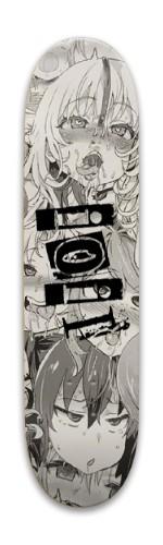 Ahegao design Park Skateboard 7.88 x 31.495