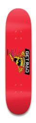 Get Rad Pizza Park Skateboard 8.25 x 32.463