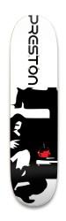 Preston The Cafe Boy Park Skateboard 8.25 x 32.463