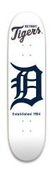Detroit Tigers Park Skateboard 7.88 x 31.495