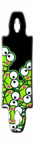 keroppi Gnarlier 38 Skateboard Deck
