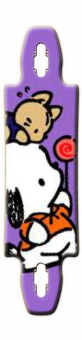 Pochacco Gnarlier 38 Skateboard Deck