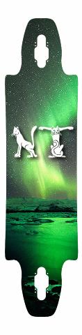 Aurora Cats Monogram NT Gnarliest 40 Skateboard Deck