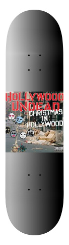 christmas in hollywood Banger Park Skateboard 7.75 x 31.25