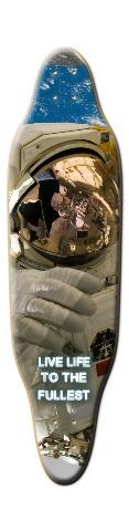 Astronaut Custom Sloop Skateboard Deck