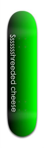 green monster Banger Park Skateboard 7 3/8 x 31 1/8