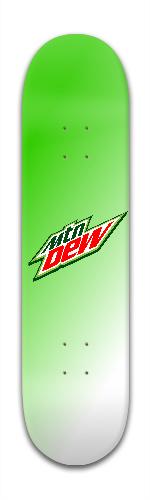 Mountain dew deck Banger Park Skateboard 7 7/8 x 31 5/8