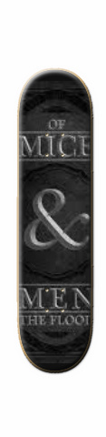 of mice and men Skateboard 31.2 x 7.625
