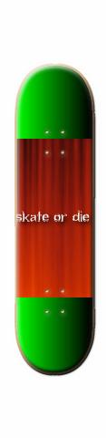 the bad asssssssssssssssss Skateboard 31.7 x 8.0