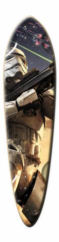 Star Wars Battlefront Dart Skateboard Deck