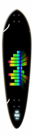 spectrum Dart Skateboard Deck