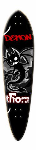 Demon Dart Skateboard Deck
