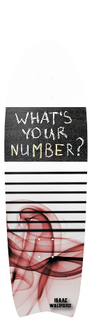 Whats your number Fish Tail Cruiser 10 x 33