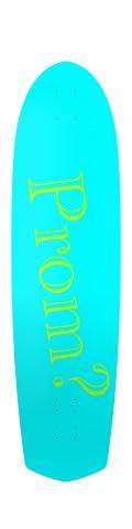 Diamond Tail Longboard 10 x 38