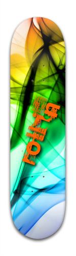 smoked roll in Banger Park Skateboard 8 x 31 3/4