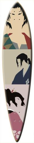 Samurai Champloo Surf Dart
