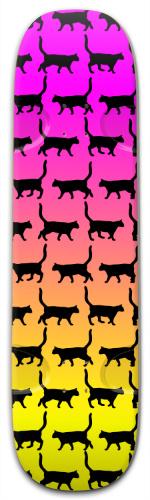 Cats Bruh Street Skateboard 9.25 x 33.5