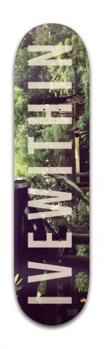Ivewithin HongKong Banger Park Skateboard 8 x 31 3/4
