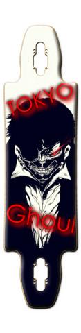 Tokyo Ghoul (Ken Kaneki) Gnarlier 38 Skateboard Deck