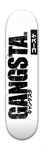 Gangsta Park Complete Skateboard 8 x 31 3/4