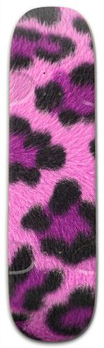 Pink Leopard Street Skateboard 9.25 x 33.5