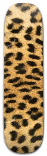Leopard Street Skateboard 9.25 x 33.5