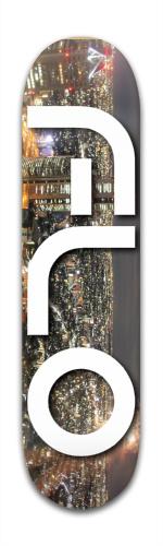 Flo City Scape Banger Park Skateboard 8 x 31 3/4