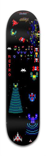 "Retro ""Galaga"" Banger Park Skateboard 8 x 31 3/4"