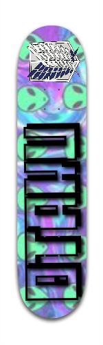otaku Banger Park Skateboard 7 3/8 x 31 1/8