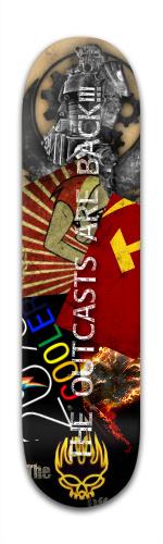 anniversary deck #2 Banger Park Skateboard 8 x 31 3/4