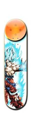Goku Banger Park Skateboard 8 1/4  x 32