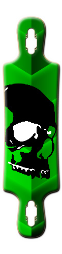 long skull rider B52 Complete Longboard
